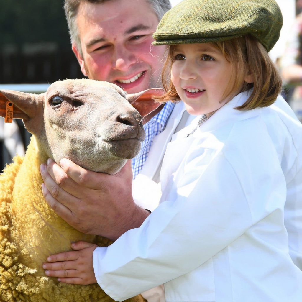 Sheep Young Handler at the Great Yorkshire Show 2017