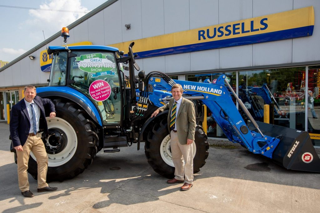 WIN a tractor at the Great Yorkshire Show 2018