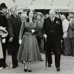 HM The Queen visits the Great Yorkshire Show in 1957
