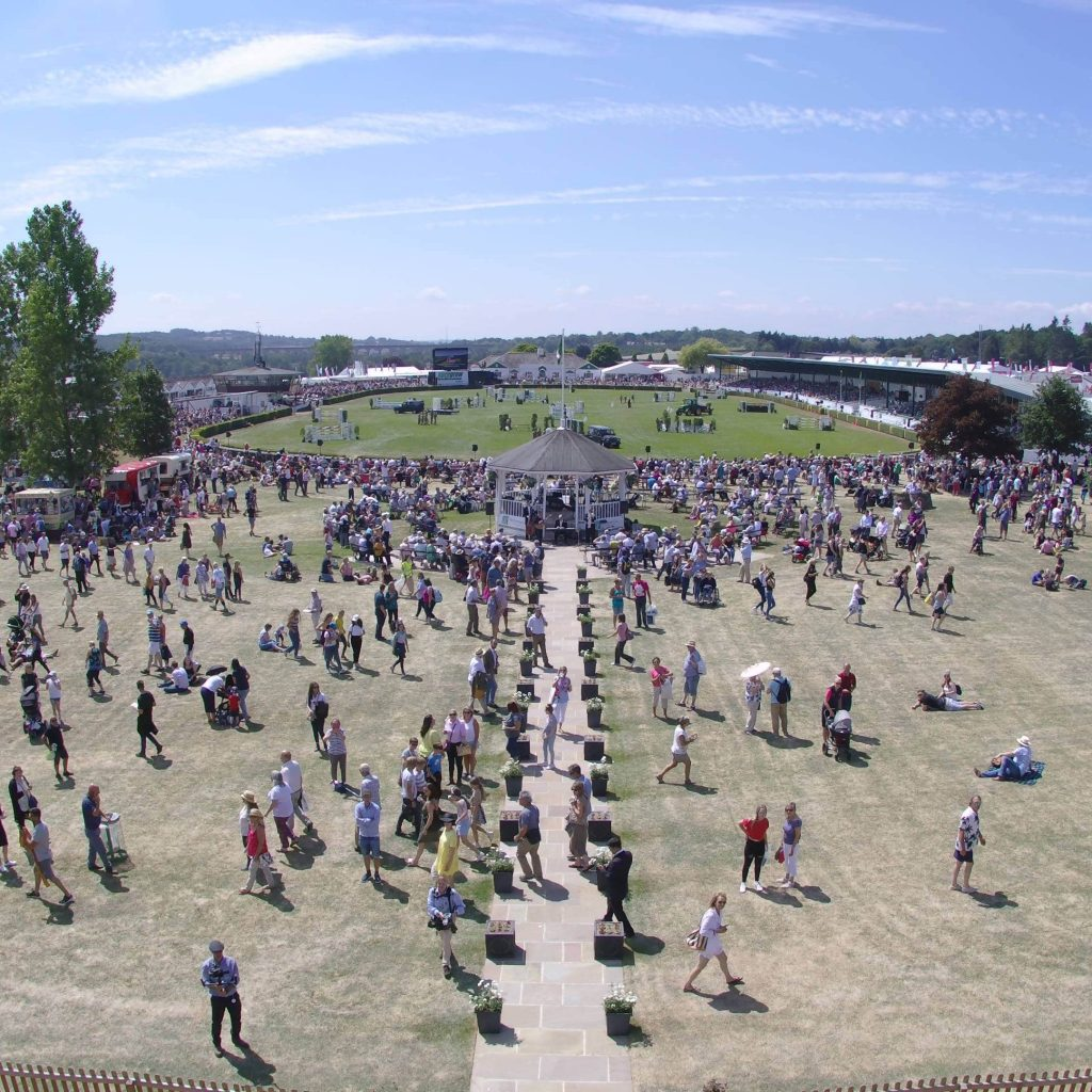 Crowds at the Great Yorkshire Show 2018