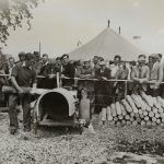 1954 Forestry section at the Great Yorkshire Show