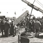 1961 Machinery lines at the Great Yorkshire Show
