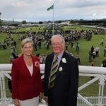 2014 HRH Countess of Wessex with John Stoddart-Scott President of the Yorkshire Agricultural Society at the Great Yorkshire Show