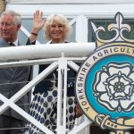 2015 The Prince of Wales and Duchess of Cornwall on the Presidents balcony at the Great Yorkshire Show