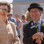 2018 HRH The Princess Royal at the 160th Great Yorkshire Show with Charles Mills Show Director
