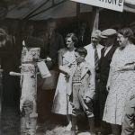 Forestry section at the 1954 Great Yorkshire Show