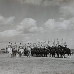 The Household Cavalry Mounted Regiment 1954 at the Great Yorkshire Show