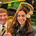 Show Director, Charles Mills with Julia Bradbury at Countryside Live 2019