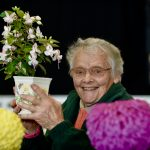 Flower exhibitor at Countryside Live 2019